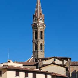 The bell tower of Badia Fiorentina
