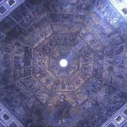 Baptistry of San Giovanni, the ceiling
