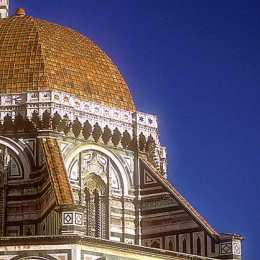 A detail of the Duomo