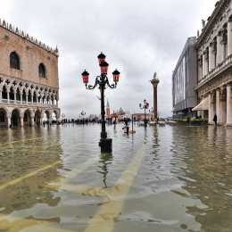 St. Mark's Square flooded